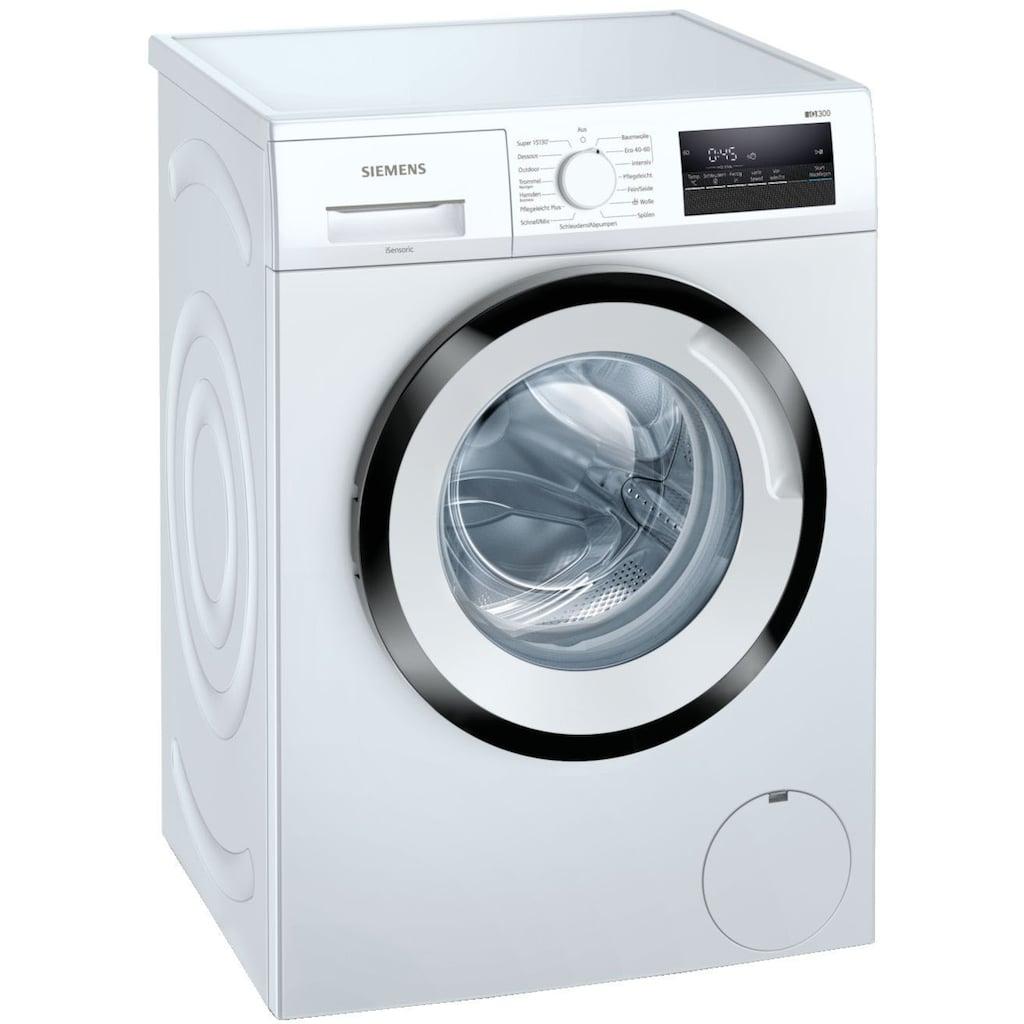 SIEMENS Waschmaschine »WM14N128«, WM14N128, 8 kg, 1400 U/min