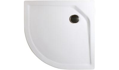 Schulte Duschwanne »extra - flach«, rund, BxT: 100 x 100 cm kaufen