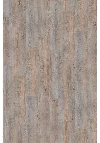 Infloor Teppichfliese »Velour Holzoptik Vintage grau«, rechteckig, 6 mm Höhe, 14... kaufen