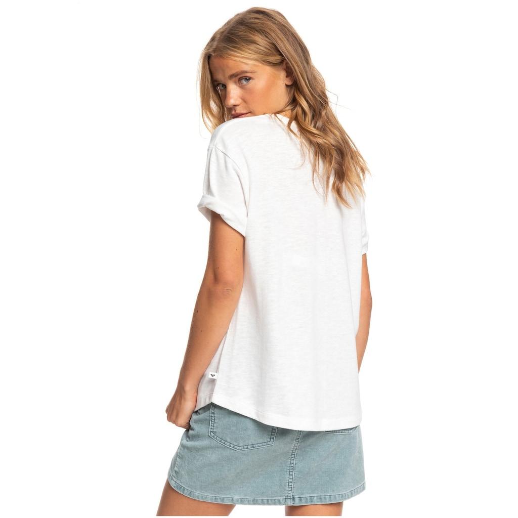 Roxy T-Shirt »Follow Me To The Beach A«