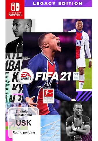 Electronic Arts Spiel »FIFA 21 Legacy Edition«, Nintendo Switch kaufen