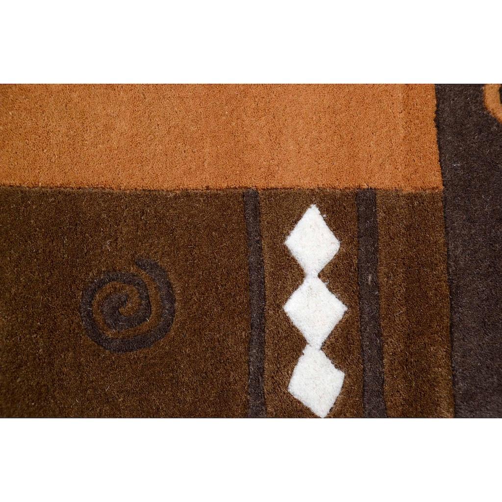 THEKO Bettumrandung »Ambadi«, Bettvorleger, Läufer-Set für das Schlafzimmer, reine Wolle, mit Bordüre