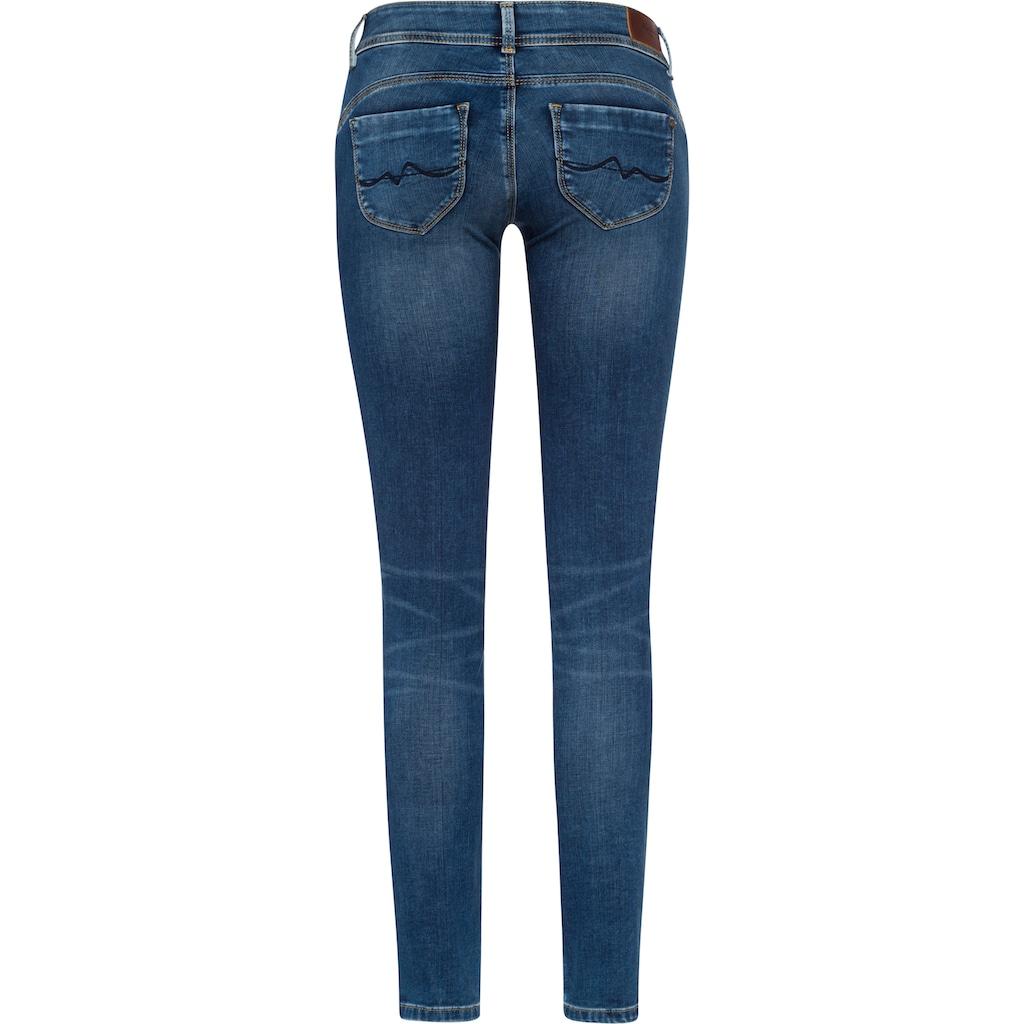 Pepe Jeans Slim-fit-Jeans »NEW BROOKE«, mit 1-Knopf Bund und Reißverschlusstasche