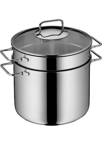 WMF Spaghettitopf, Cromargan® Edelstahl Rostfrei 18/10, (1 tlg.), mit Siebeinsatz, Ø 24 cm, Induktion kaufen
