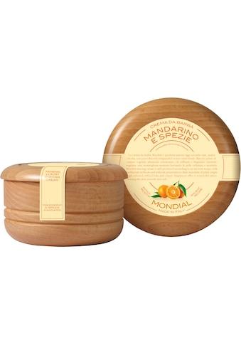 "Mondial Antica Barberia Rasiercreme ""Luxury Shaving Cream Wooden Bowl Mandarino e Spezie"" kaufen"