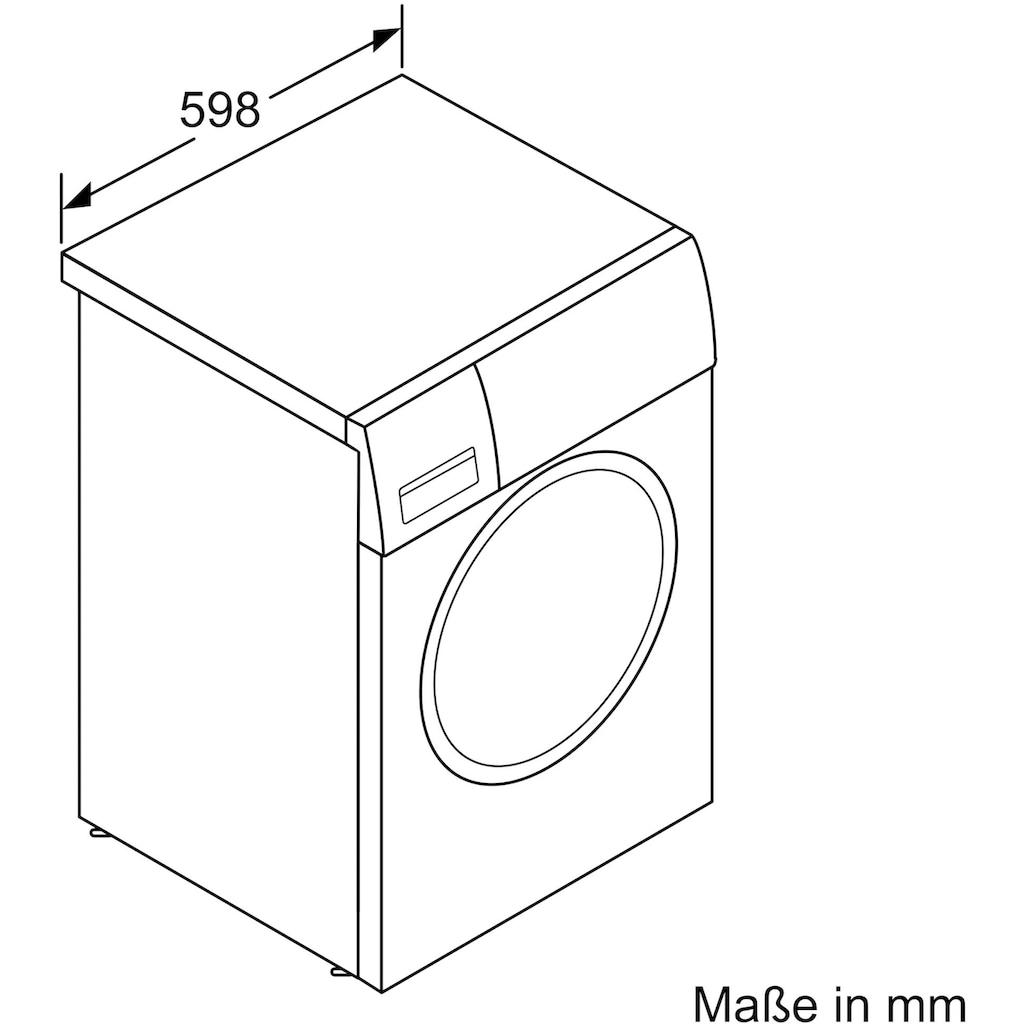 BOSCH Waschmaschine »WAU28S70«, 6, WAU28S70, 9 kg, 1400 U/min