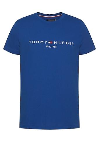 TOMMY HILFIGER T - Shirt »Tommy Logo Tee« kaufen
