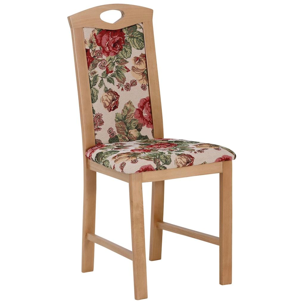 Home affaire Eckbankgruppe »Minden 1«, (Set, 4 tlg., Die Stühle weichen in der Farbe ab.), im rustikalen Landhausstil