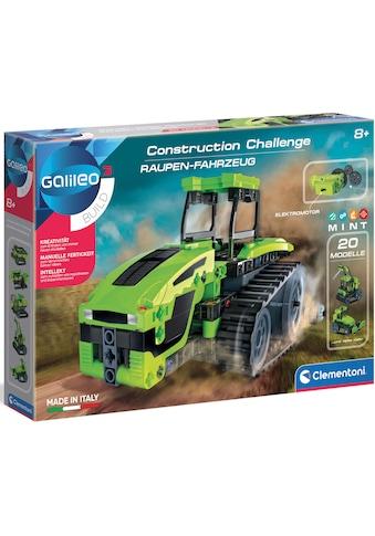 Clementoni® Experimentierkasten »Galileo Construction Challenge - Raupen-Fahrzeug«,... kaufen