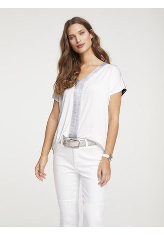Shirt mit Besatz kaufen