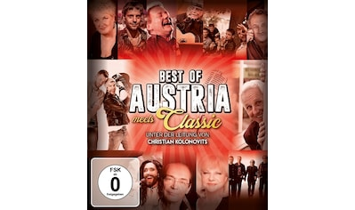 Musik-CD »BEST OF AUSTRIA MEETS CLASSIC (BLU-RAY) / Diverse Pop« kaufen