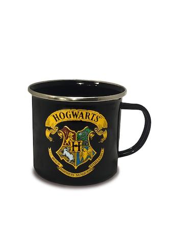 LOGOSHIRT Emaillebecher mit Hogwarts - Wappen kaufen