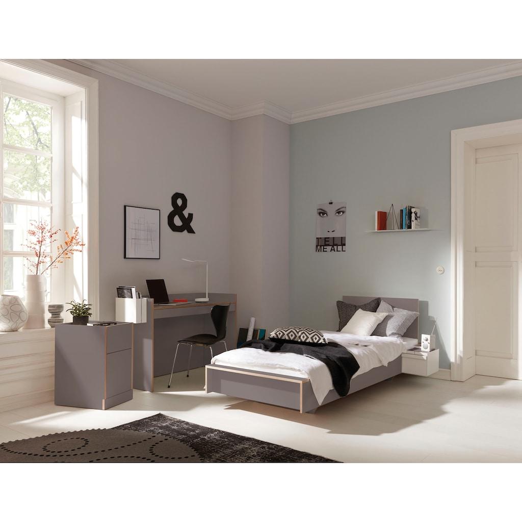 Müller SMALL LIVING Einzelbett »FLAI«, mit Kopfteil, ausgezeichnet mit dem German Design Award 2018