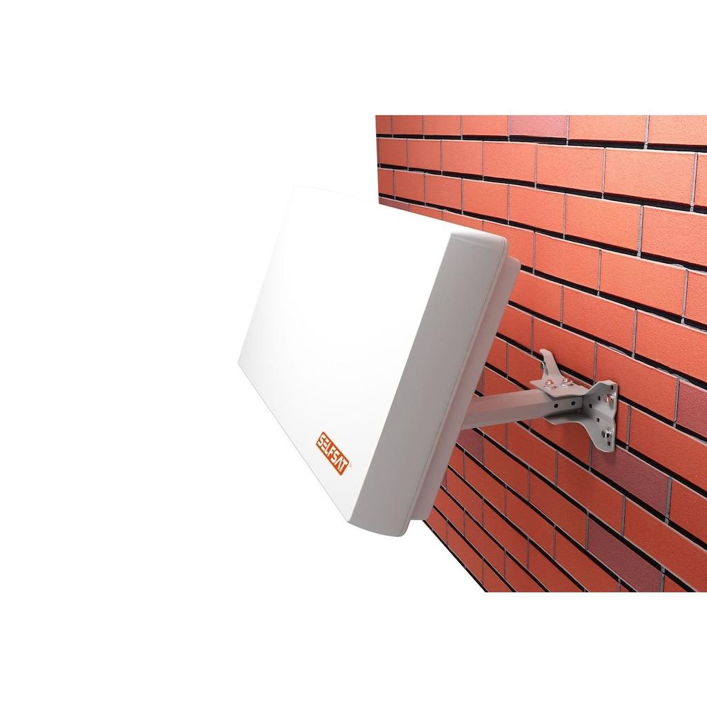 Selfsat Sat-Spiegel »H21D4 quad Flachantenne«