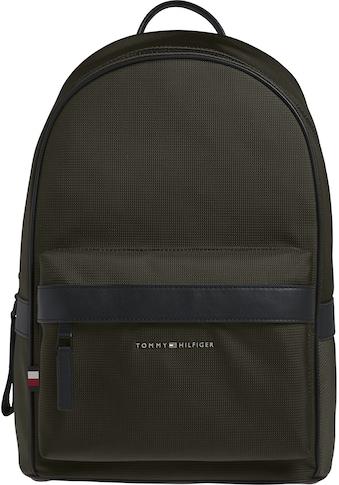 Tommy Hilfiger Cityrucksack »ELEVATED NYLON BACKPACK«, mit praktischem Steckfach innen kaufen