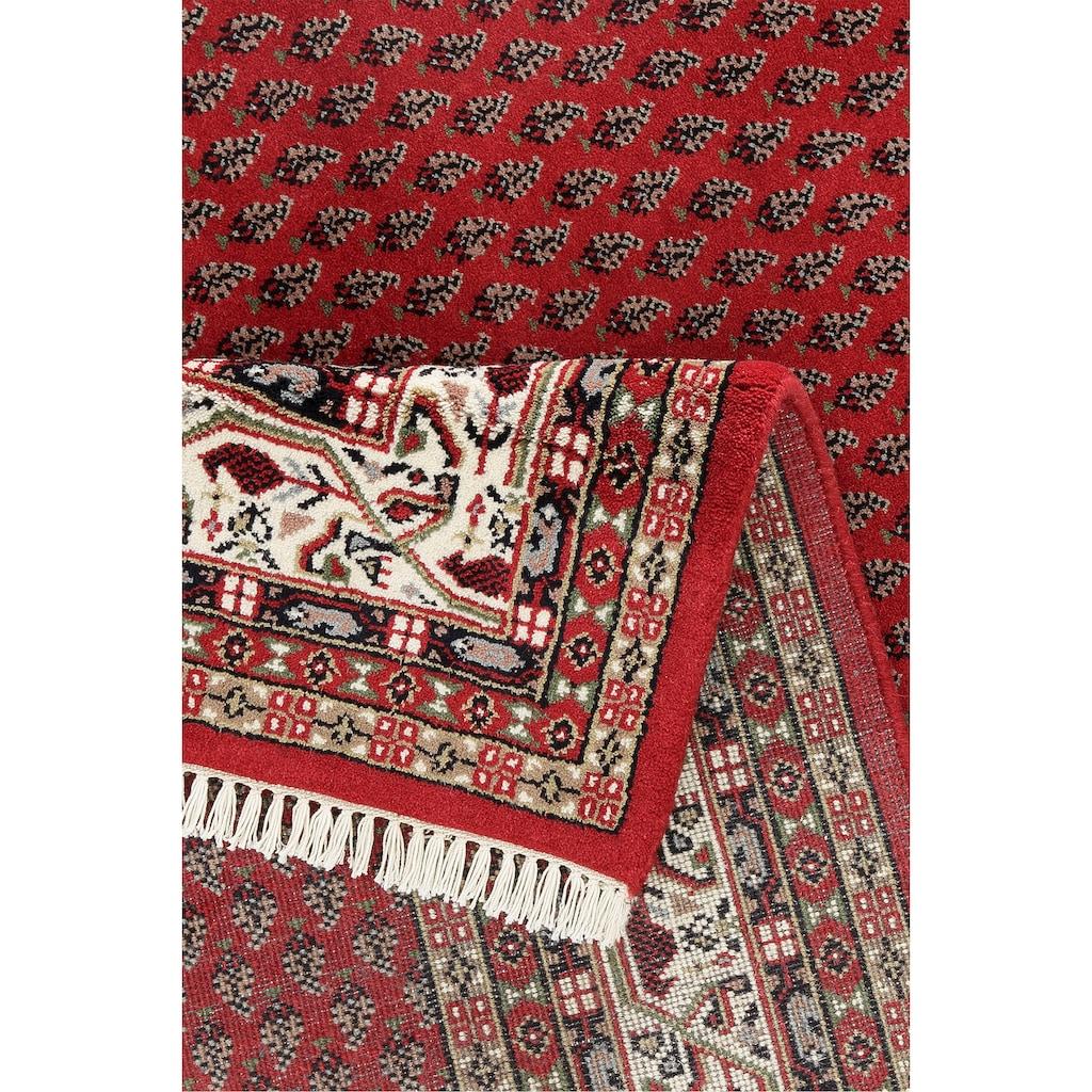 Home affaire Läufer »Levin«, rechteckig, 12 mm Höhe, Teppichläufer, handgeknüpft, mit Fransen