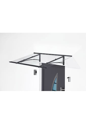 Gutta Pultvordach »TYP PT/GR«, BxT: 160x90 cm, anthrazit - transparent kaufen