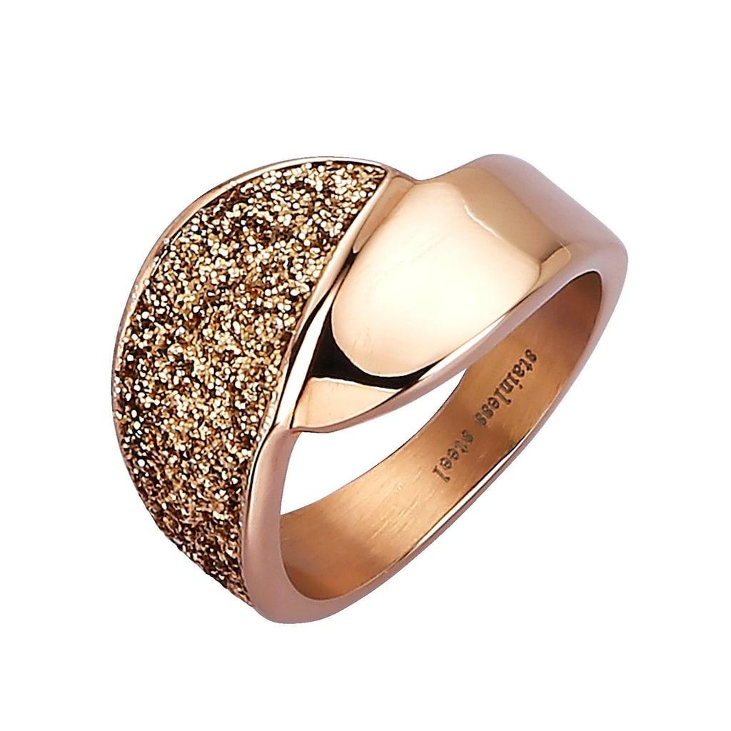 Jacques Lemans Fingerring, Ring 925/- Sterling Silber