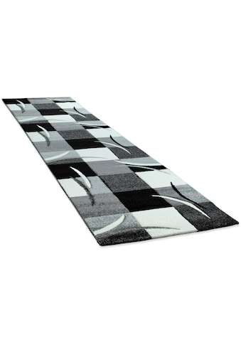 Paco Home Läufer »Diamond 665«, rechteckig, 17 mm Höhe, Teppich-Läufer, Kurzflor,... kaufen