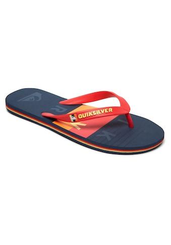 Quiksilver Sandale »Molokai Word Block« kaufen