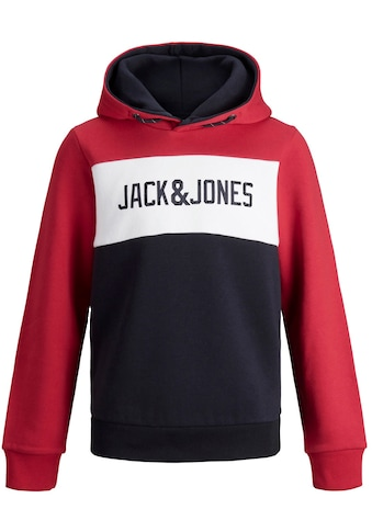Jack & Jones Junior Kapuzensweatshirt »JJELOGO BLOCKING SWEAT H« kaufen