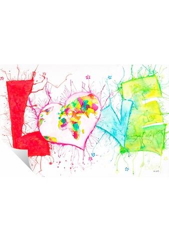 Wall-Art Wandtattoo »LOVE« kaufen