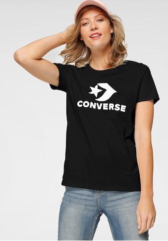 Converse T-Shirt »CONVERSE SCRIPTED STAR CHEVRON SHORT SLEEVE CREW T-SHIRT« kaufen