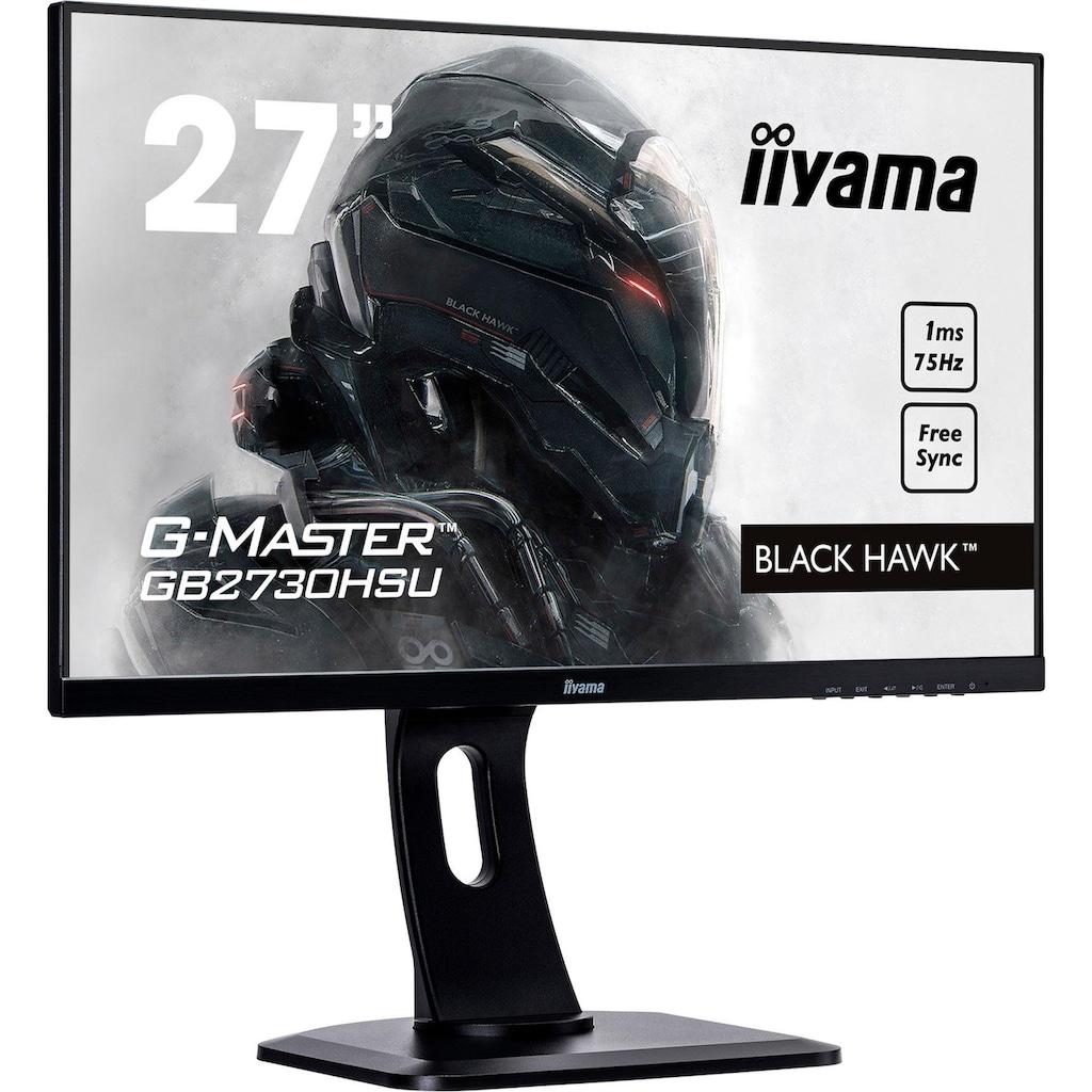 """Iiyama LED-Monitor »G-MASTER GB2730HSU«, 68,6 cm/27 """", 1920 x 1080 px, Full HD, 1 ms Reaktionszeit, 75 Hz"""
