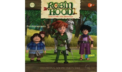 Musik - CD (3)Original Hörspiel z.TV - Serie - Das Pferderennen / Robin Hood - Schlitzohr Von Sherwood, (1 CD) kaufen