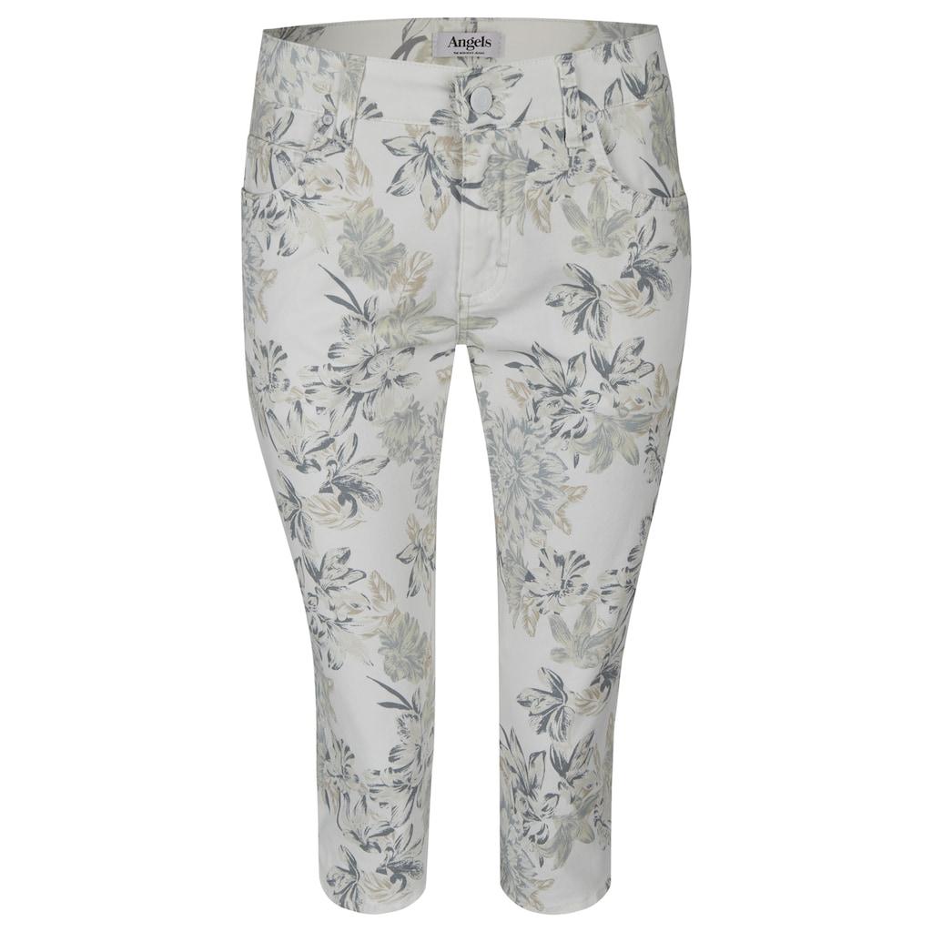 ANGELS Jeans,Capri' mit femininem Blumenmuster