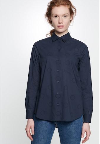 seidensticker Hemdbluse »Schwarze Rose«, Langarm Kragen Uni kaufen