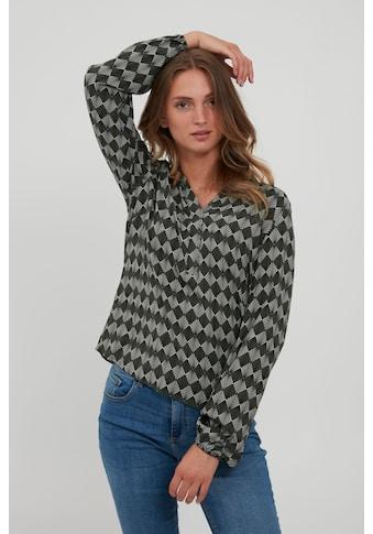 b.young Langarmbluse »BYJOSA 20810145«, Feminine Bluse mit V-Ausschnitt kaufen