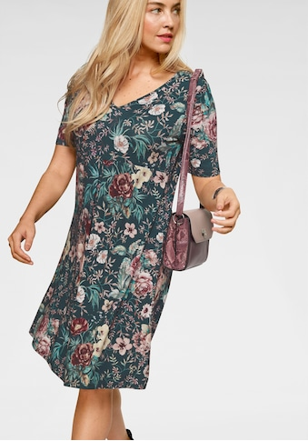 Boysen's Jerseykleid, mit allover Blumenmuster kaufen