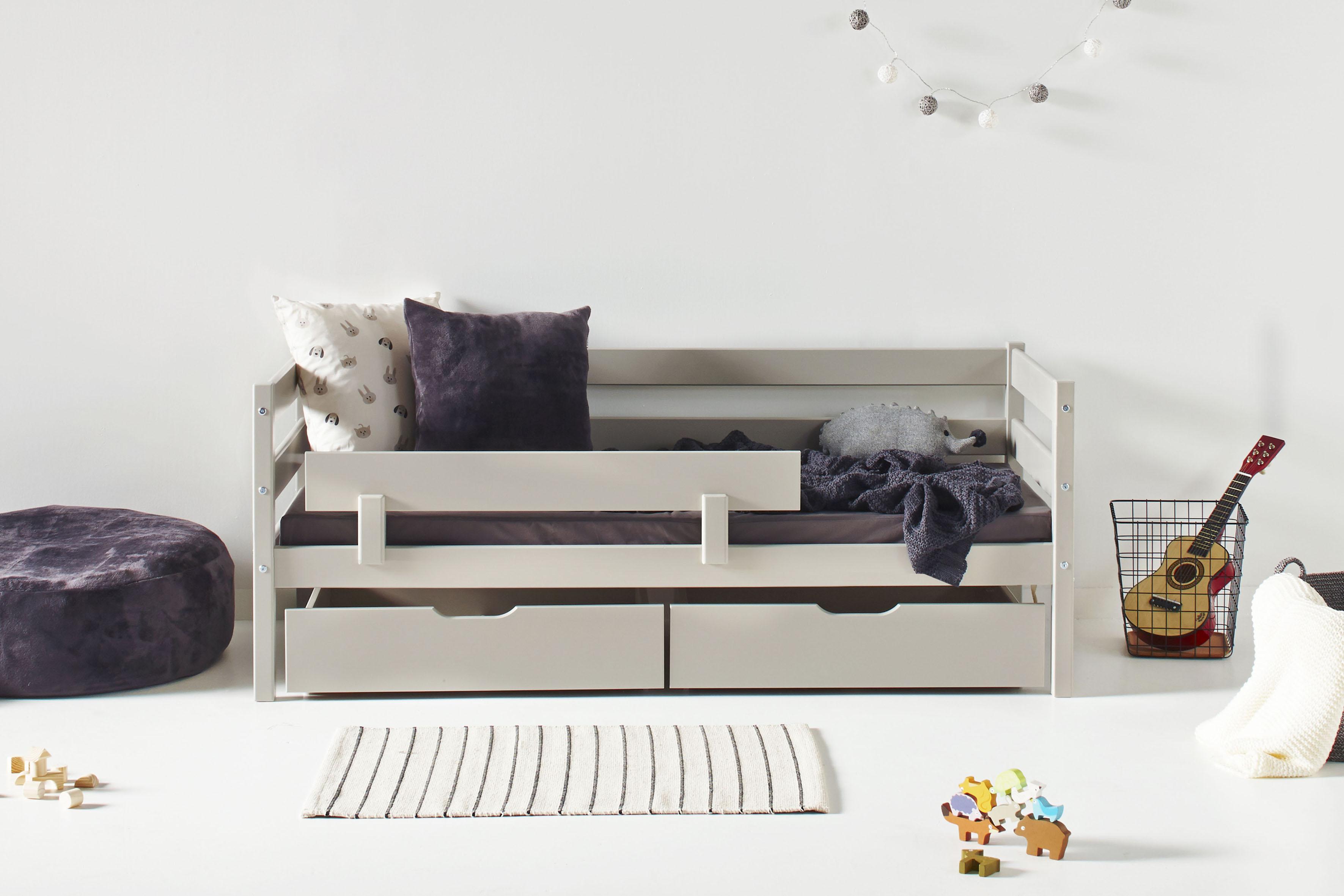 hoppekids kinderbett inkl matratze und rollrost bequem. Black Bedroom Furniture Sets. Home Design Ideas