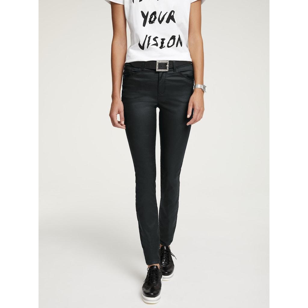 RICK CARDONA by Heine Skinny-fit-Jeans, mit leichtem Glanz