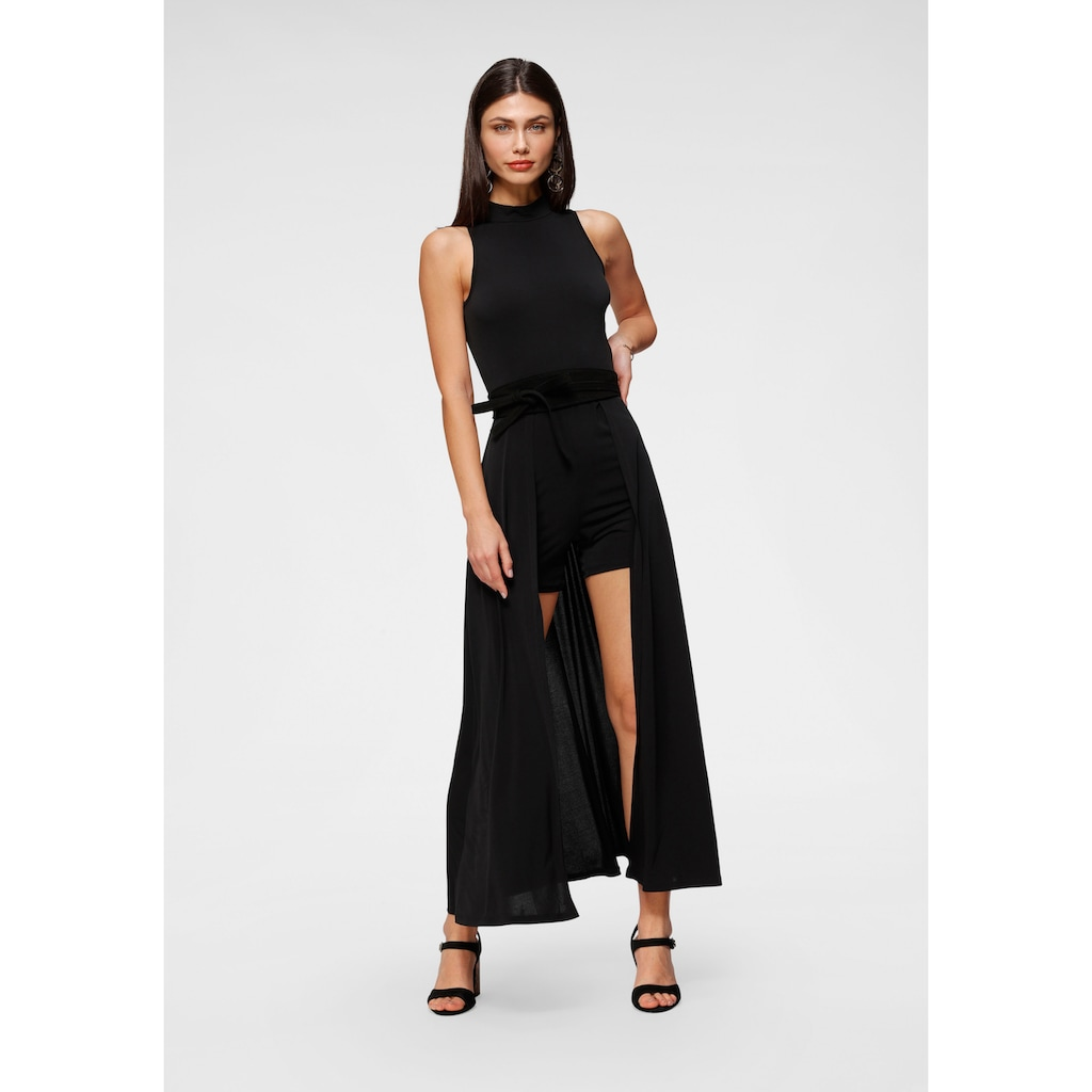 Melrose Overall, mit angesetztem Rock im 2in1 Look