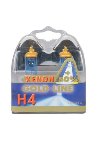 UNITEC Halogenlampe »H4 Xenon Gold«, 2 St., Tageslichtweiß kaufen