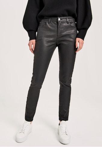 OPUS Skinny-fit-Jeans »Evita refined«, mit leicht scheinender Beschichtung kaufen