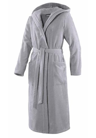 Joop! Damenbademantel »Uni Kapuze«, in extraflauschiger Qualität kaufen