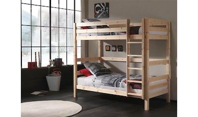 Vipack Etagenbett »Pino«, wahlweise mit Bettschublade kaufen
