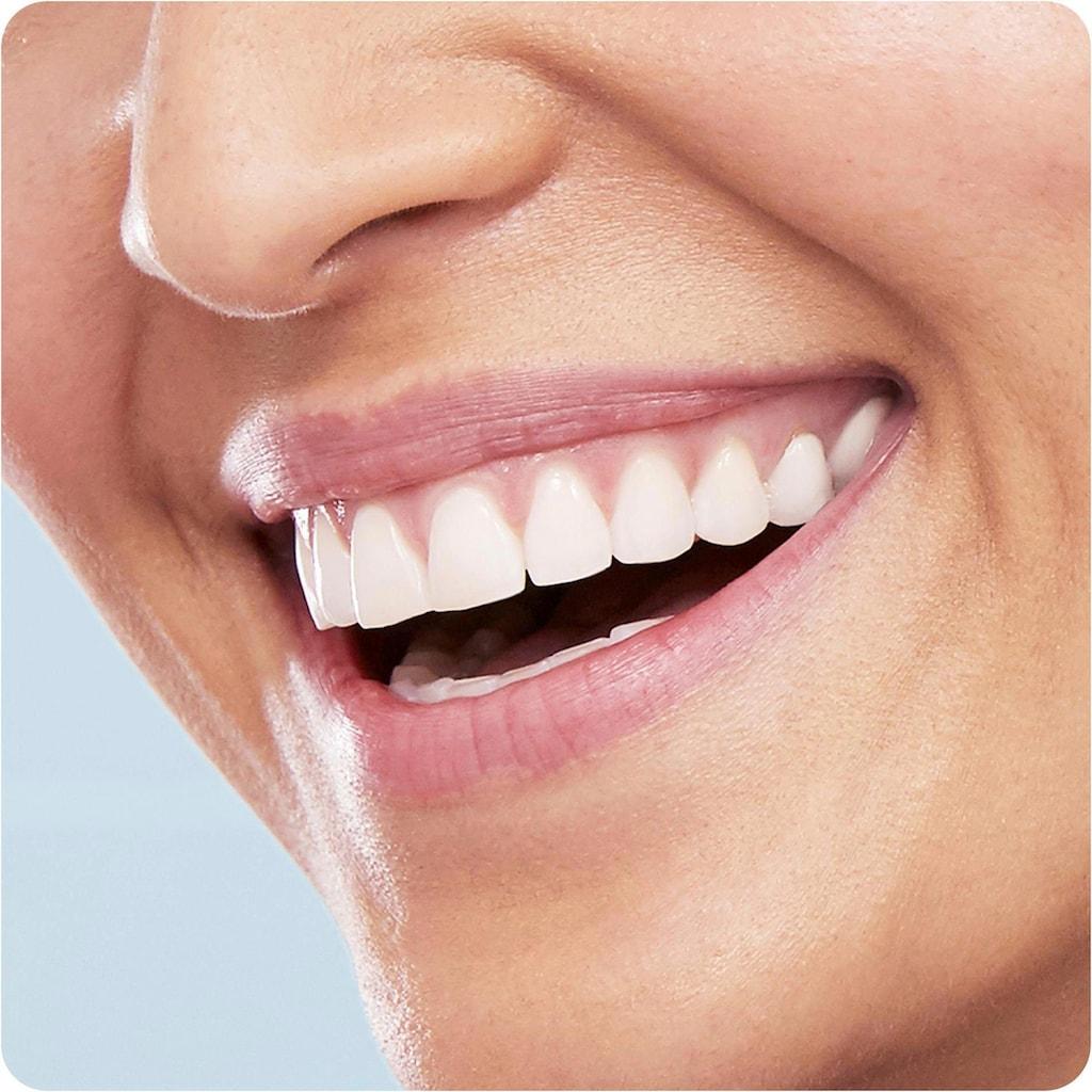 Oral B Elektrische Zahnbürste »Vitality 100 CrossAction Pink«, 1 St. Aufsteckbürsten