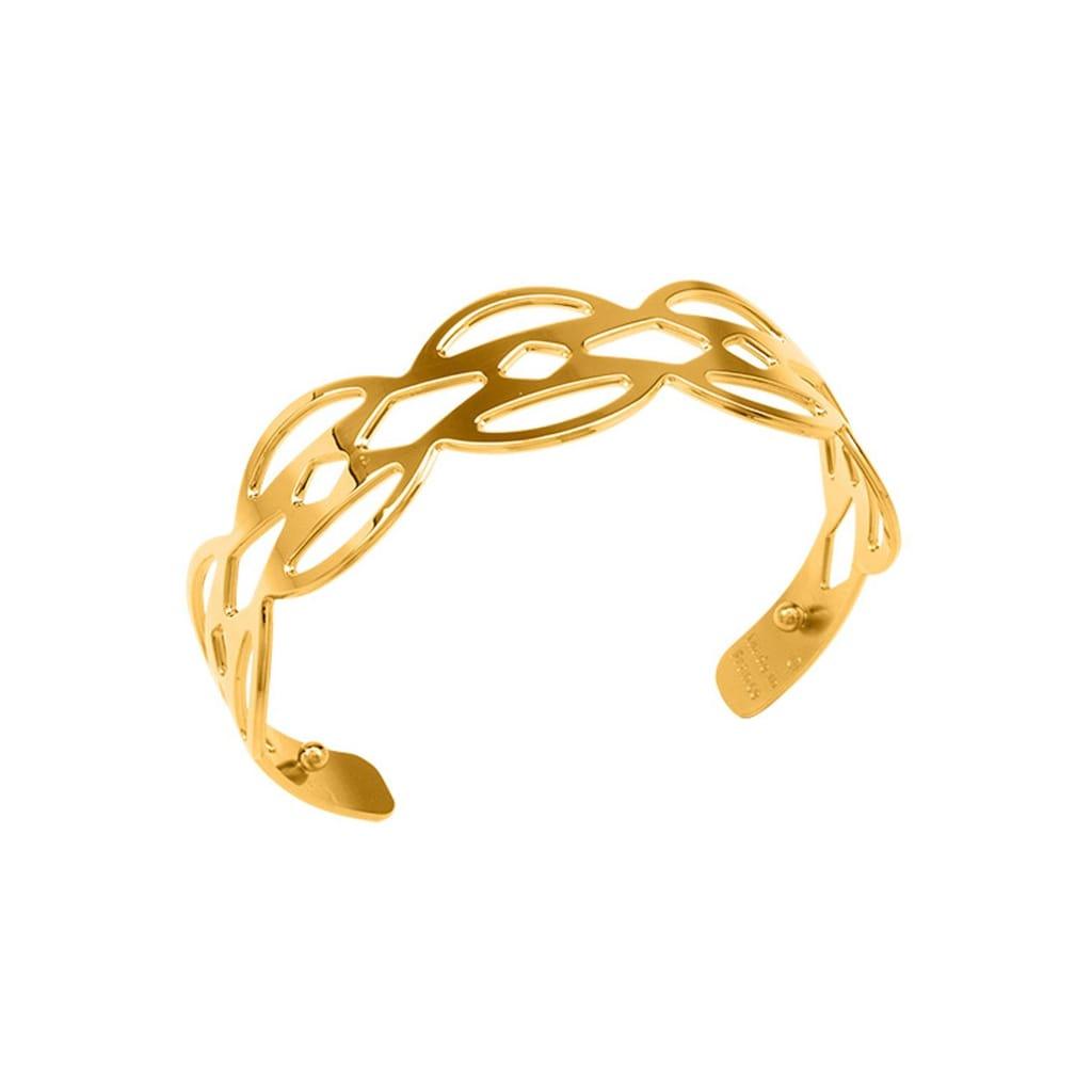 Les Georgettes Armspange »APACHE, GOLD, 8 mm, APAG8«, ohne Ledereinsatz