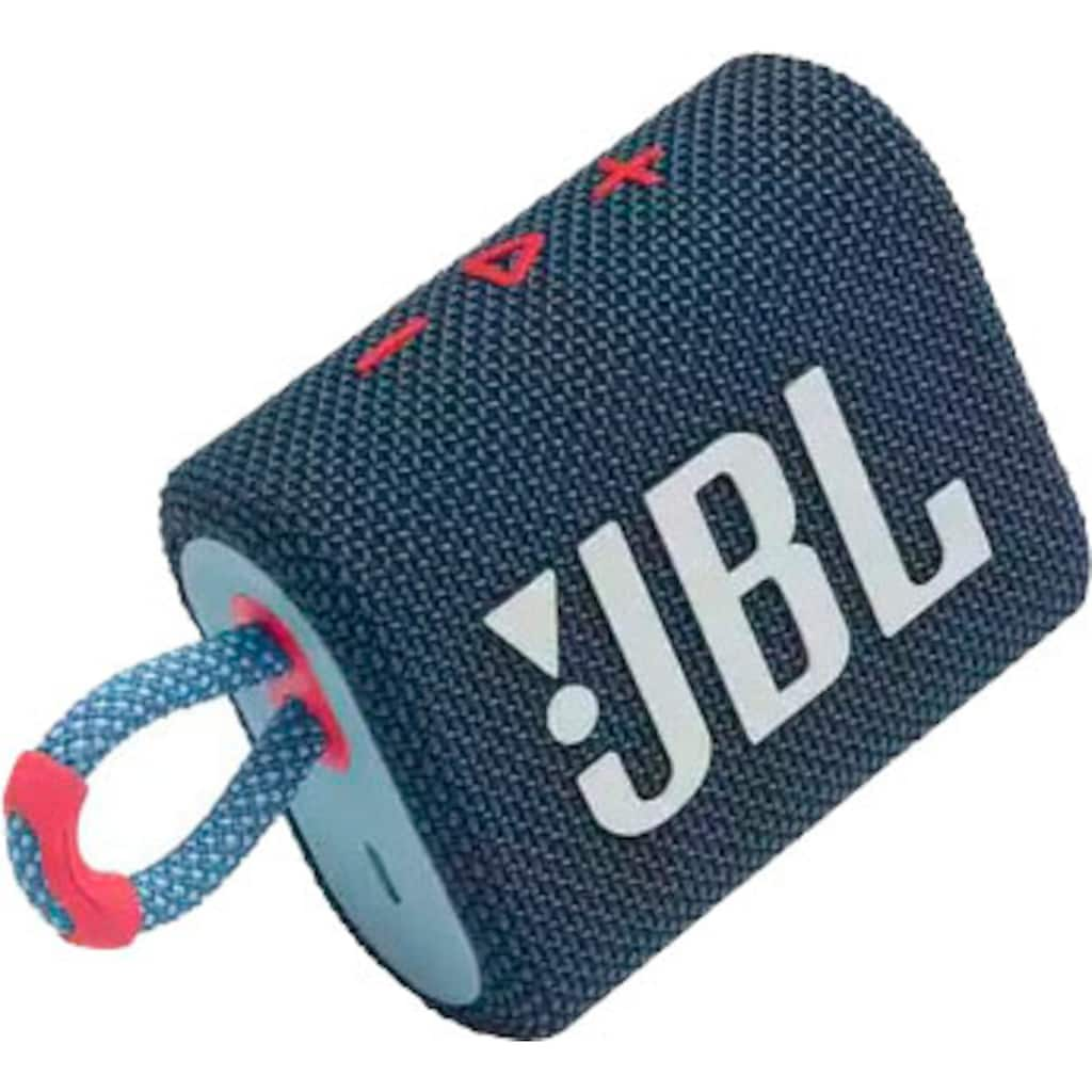 JBL Portable-Lautsprecher »GO 3«, wasser- und staubfest