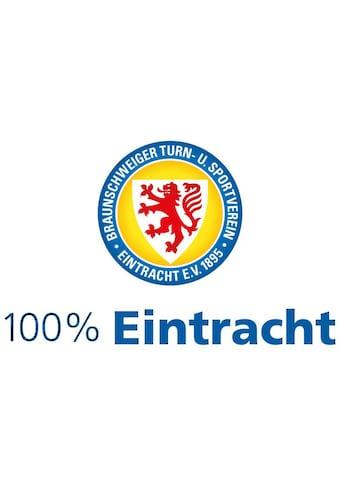 Wall-Art Wandtattoo »Eintracht Braunschweig 100%« kaufen