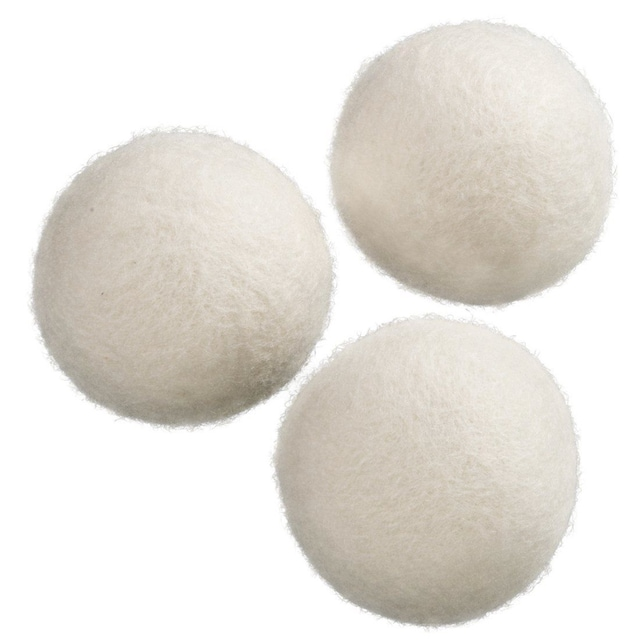Xavax Trocknerbälle aus Wolle, 3 Stück »100% natürlich aus Schafwolle«