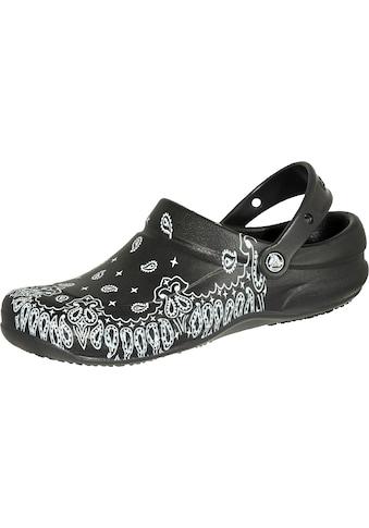 Crocs Clog »Bistro Graphic Clog schwarz/weiß«, Sicherheitsklasse OB, Croslite kaufen