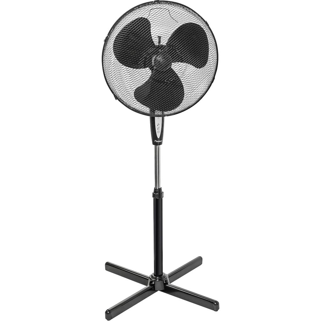 bestron Standventilator »mit Schwenkfunktion«, und Fernbedienung, Höhe: 122 cm, Ø 45 cm, 45 W, Schwarz