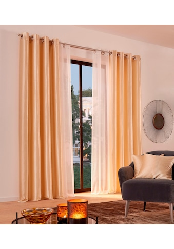 Guido Maria Kretschmer Home&Living Vorhang »Glow«, blickdicht, echter Jacquard, glänzend kaufen
