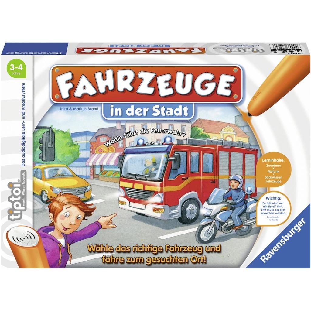 Ravensburger Spiel »tiptoi® Fahrzeuge in der Stadt«, Made in Europe, FSC® - schützt Wald - weltweit