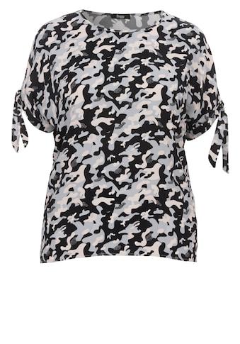 FRAPP Lässiges Blusen-Shirt mit Camou-Muster kaufen